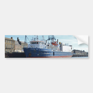 Research & Survey Ship Atlantic Wind Bumper Sticker