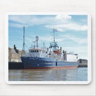 Research & Survey Ship Atlantic Wind Mousepads