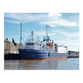 Research & Survey Ship Atlantic Wind Postcard