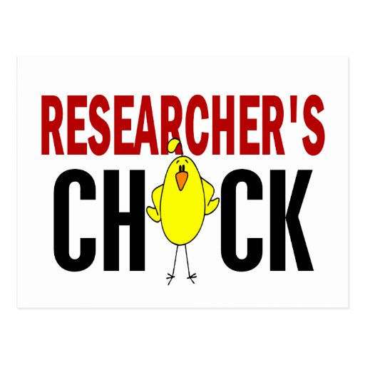 RESEARCHER'S CHICK POSTCARDS