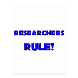 Researchers Rule! Postcard