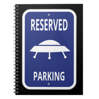 Reserved Parking Notebook