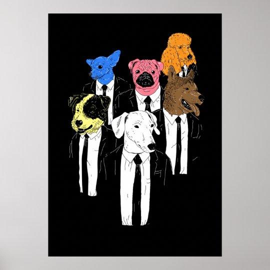 Reservior doggies poster