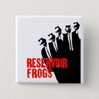 reservoir frogs 15 cm square badge