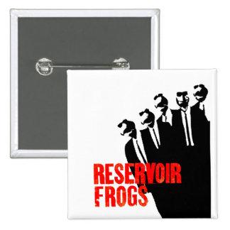 reservoir frogs 15 cm square badge