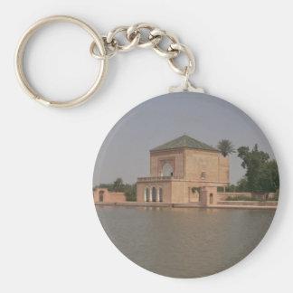 Reservoir, Marrakech, Morocco, Africa Key Chains