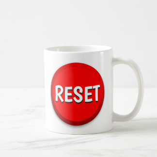 Reset Button Coffee Mug