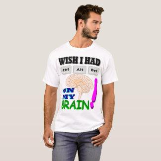 Reset My Brain T-Shirt
