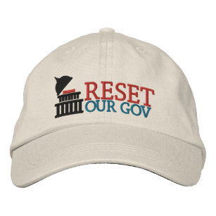 Reset Our Gov logo hat
