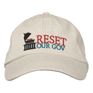 Reset Our Gov logo hat