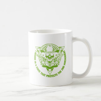 Reside In A State That Protects The 2nd Amendment Basic White Mug