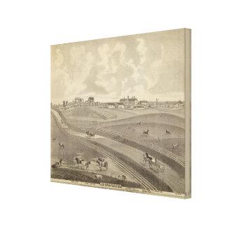Residence, Minnesota Gallery Wrap Canvas