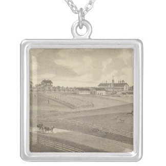 Residence, Minnesota Silver Plated Necklace