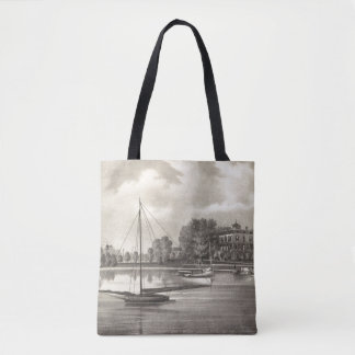 Residence of Joseph Francis, Tom's River, NJ Tote Bag