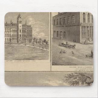 Residence, West Liberty College Mousepad