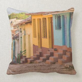 Residential houses, Trinidad, Cuba Cushion