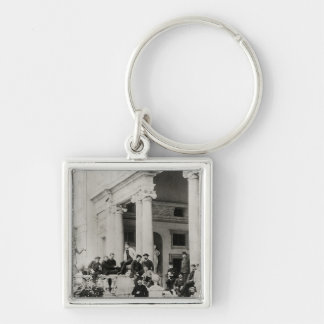 Residents of Villa Medici in Rome Key Chains