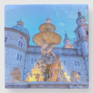 Residenzplatz in Salzburg, Austria Stone Coaster