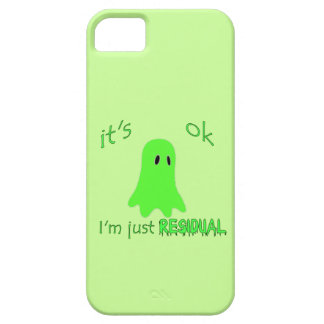 Residual Haunting - Green Ghost iPhone 5/5S Cases