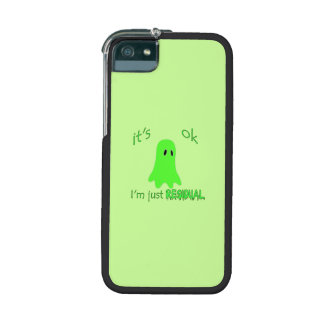 Residual Haunting - Green Ghost iPhone 5/5S Covers