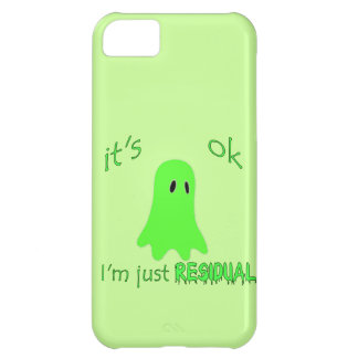 Residual Haunting - Green Ghost iPhone 5C Covers