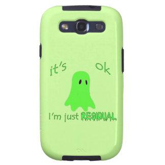 Residual Haunting - Green Ghost Samsung Galaxy SIII Cases