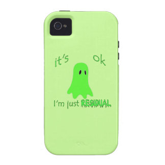 Residual Haunting - Green Ghost iPhone 4 Cover