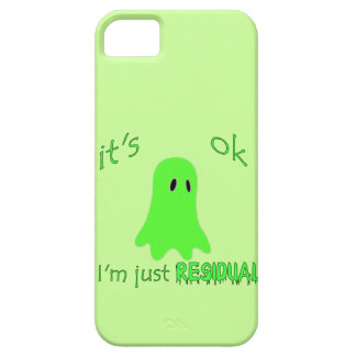 Residual Haunting - Green Ghost iPhone 5/5S Case
