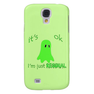 Residual Haunting - Green Ghost Samsung Galaxy S4 Cover
