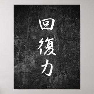 Resilience - Kaifukuryoku Poster