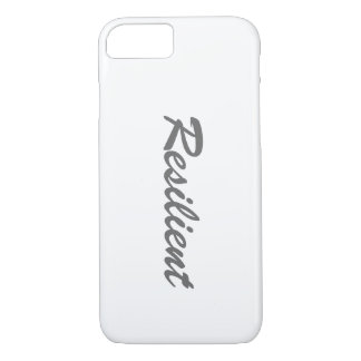"""""""Resilient"""" Apple iPhone 7 Phone Case"""