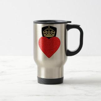 Resilient Heart Stainless Steel Travel Mug