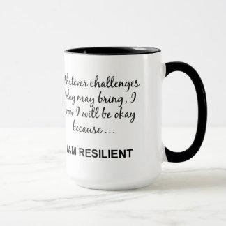 RESILIENT LIVING: I AM RESILIENT MUG