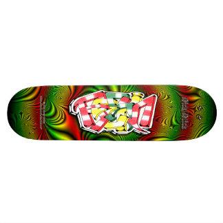 RESIN Tag 01 ~ Custom Graffiti Art Pro Skateboard