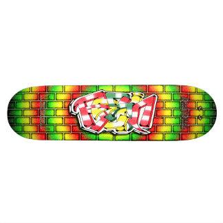 RESIN Tag 02 Custom Graffiti Art Pro Skateboard