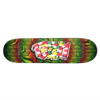 RESIN Tag 03 ~ Custom Graffiti Art Pro Skateboard