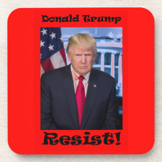 Resist - Anti Trump Coaster