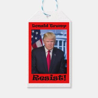 Resist - Anti Trump Gift Tags