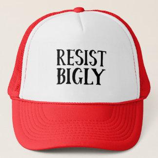 Resist Bigly Anti Trump Resistance Apparel Trucker Hat