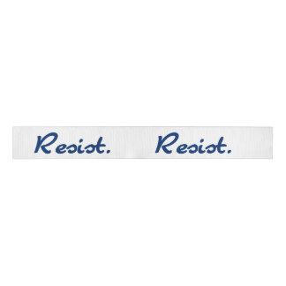 Resist Blue Resistance Grosgrain Ribbon