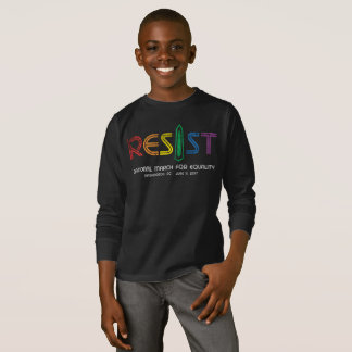 Resist Boy's Dark Long Sleeve T-Shirt