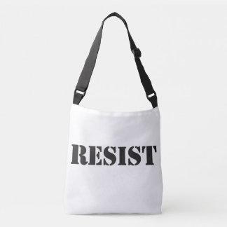 RESIST cross body bag