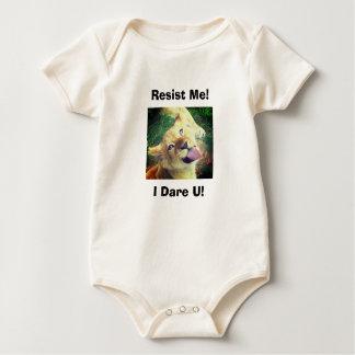 Resist & Dare Baby Bodyshirt Baby Bodysuit