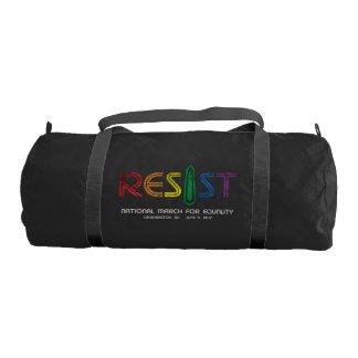Resist Dark Duffel Bag