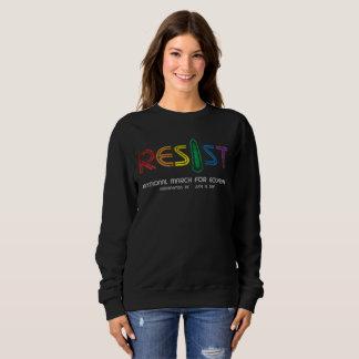 Resist Dark Women's Basic Sweatshirt