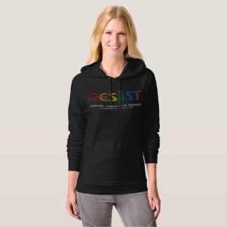 Resist Dark Women's Fleece Pullover Hoodie