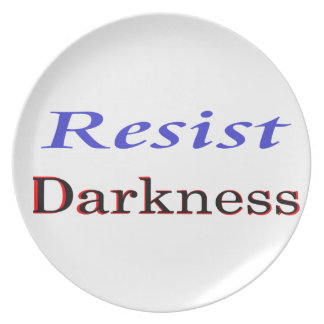 Resist Darkness products Plate