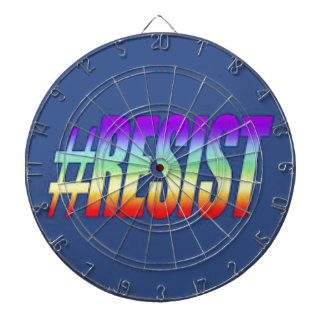RESIST DARTBOARD