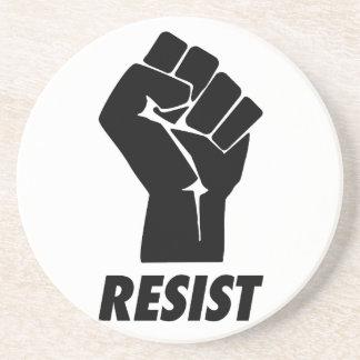 resist fist coaster