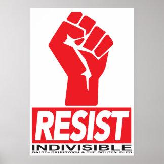 Resist Fist Poster